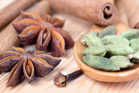 flavorings: various spices