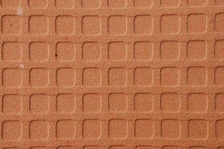 pattern back side of the tile