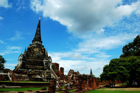 Ancient capital of thailand. Editorial