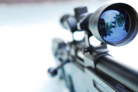 sniper gun  Stock Photo