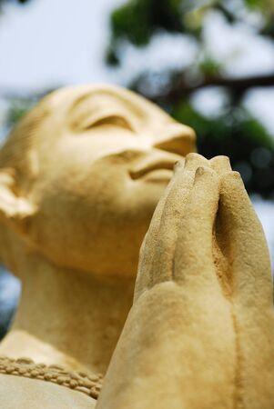 sculpture in thai style Stock Photo