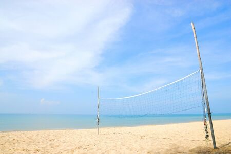 Beach volleyball photo