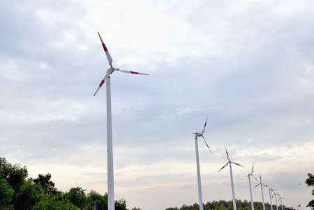 avail: a wind turbines in nature park