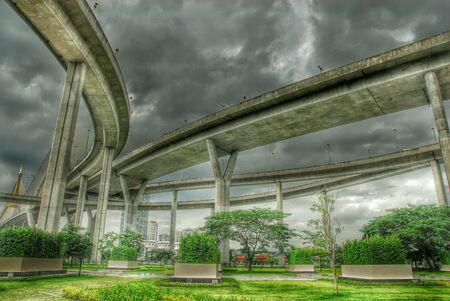 HDR of expressway in thailand Reklamní fotografie
