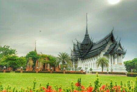 Nádherný chrám v Bangkoku v Thajsku.