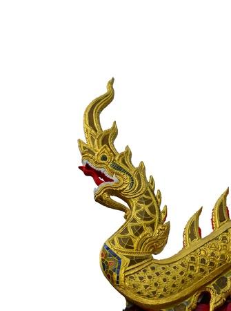 Dragon on roof, Bose Tus  Stock Photo