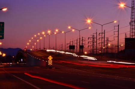 overpass: Overpass evening