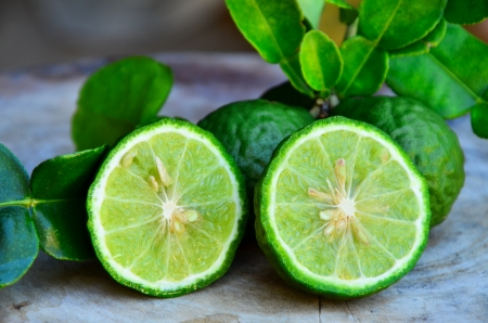 lime fruit: Bergamot