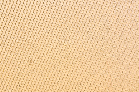 Yellow metal mesh  photo