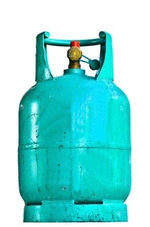 liquefied: Unclean Gas tank  Stock Photo