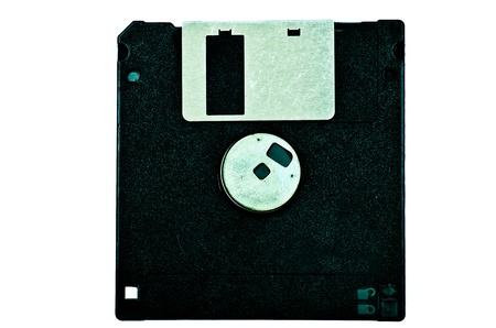 Black diskette photo