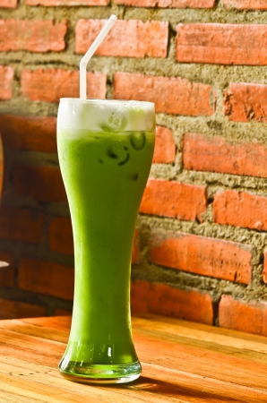 Cold green tea Zdjęcie Seryjne