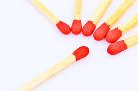 red matches Stock Photo - 18852517
