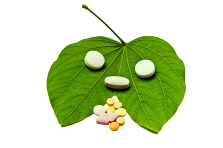 many grugs on leaf Stock Photo