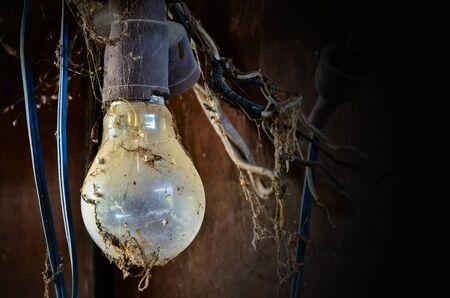 inefficient: Old light bulb Stock Photo