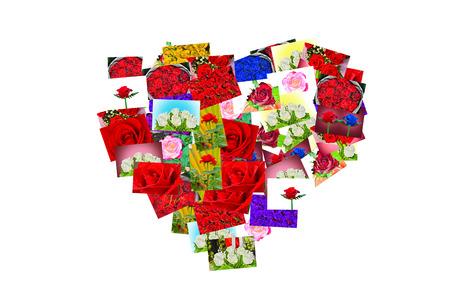 hart: rose hart Stock Photo