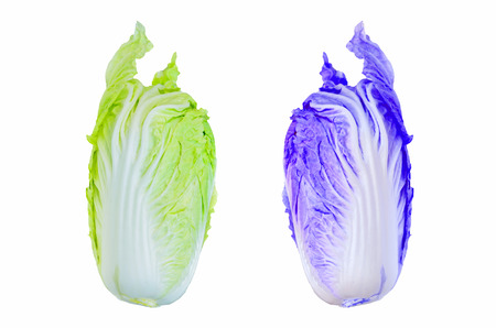 muti: Muti color tasty Chinese cabbage  Stock Photo