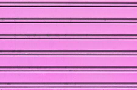 pink metal security roller door background photo