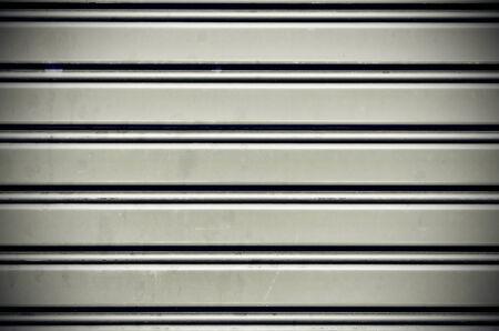 dirty metal security roller door background photo