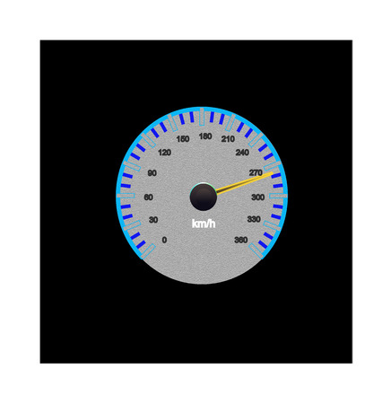 kph: Speedometer
