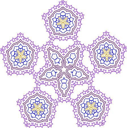 seamless guilloche background Illustration