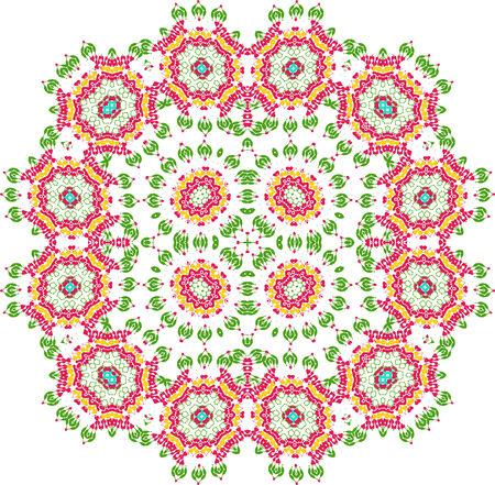 seamless pattern floral: Seamless pattern  Floral stylish background