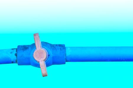 kunststoff rohr: Wasserventil und Kunststoffrohr
