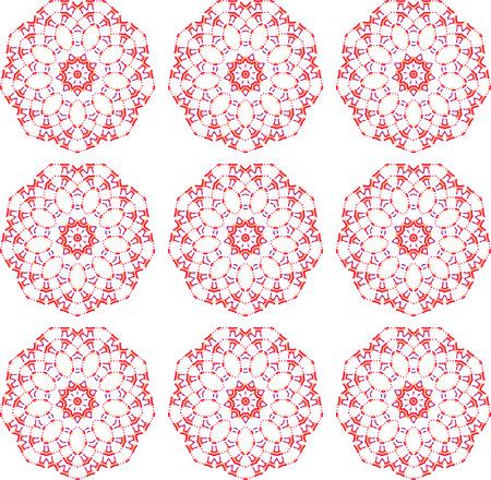 Japanese torii pattern
