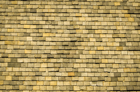 rooftiles: Architectural Detail of Slate Roof Tiles in vintage light Stock Photo