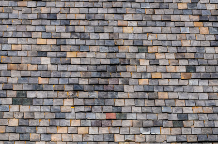 slate roof: Architectural Detail of Slate Roof Tiles
