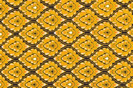 Handmade traditional guatemalan design fabric