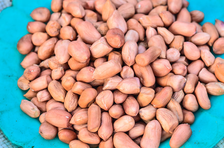 goober peas: Groundnuts Stock Photo