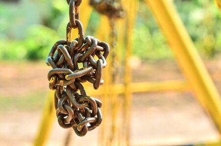 secrete: Old chain