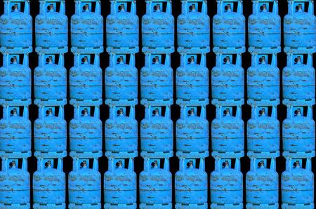 cilindro de gas: fondo del cilindro de gas Muchos