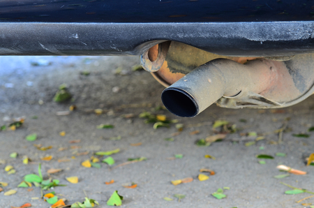 exhaust pipe: exhaust pipe