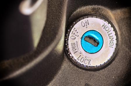 key hole: motorcycle key hole