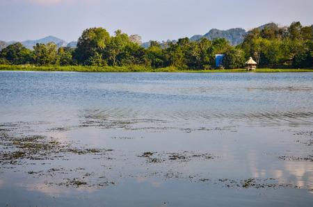 Beautiful Scenery in the reservoir