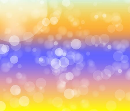Bright Light bokeh on muti color background 向量圖像