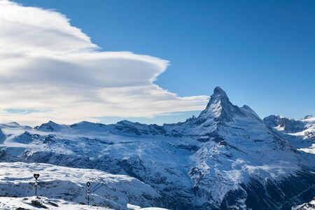 Zermatt mountains photo
