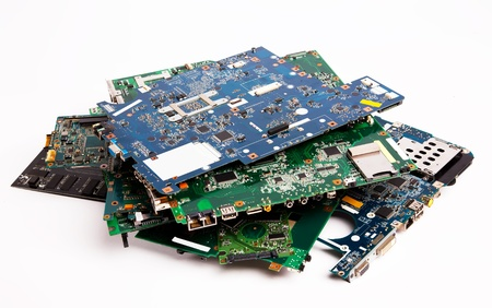 Composition of different laptop mother boards