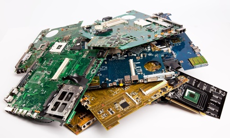 microelectronics: Composition of different laptop mother boards