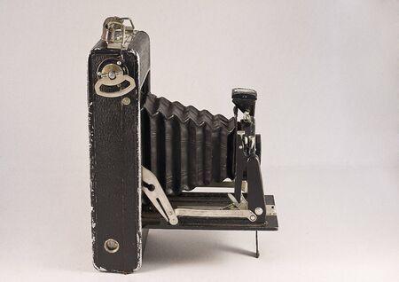 bellows: Historical bellows camera Stock Photo