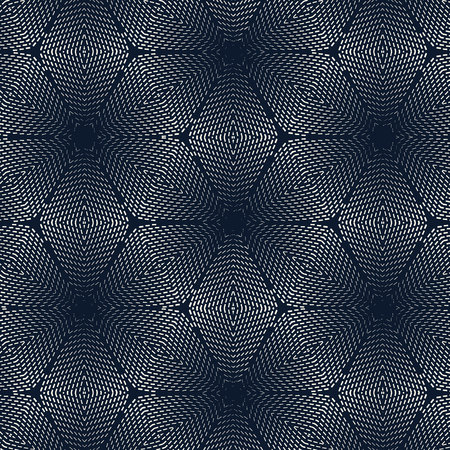 metalic: seamless pattern abstract metalic dashed line flower wallpaper background Illustration