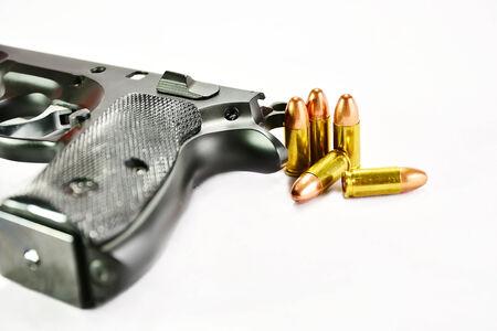 hand gun: Guns and ammunition
