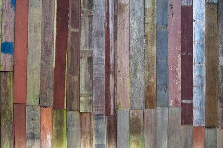 weathered wood: Wood material background for old Vintage wallpaper for background