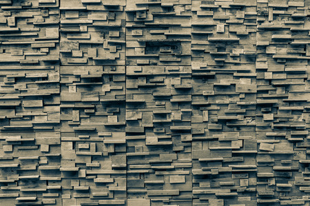 parquet floor layer: exposed wooden wall exterior, patchwork of raw wood forming a beautiful parquet wood pattern,Wood wall pattern,for background