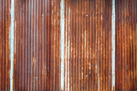rust red: Old  Zinc rust textured for background,retro for background Stock Photo