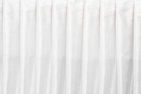 背景の抽象的な白いカーテン テクスチャー壁紙 写真素材