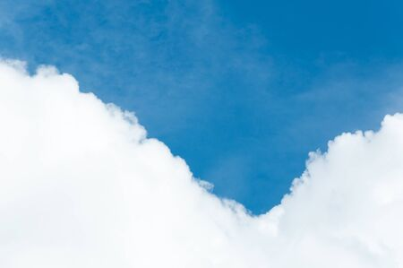 Cloud and blue sky for background textured,beautiful blue sky Stock Photo
