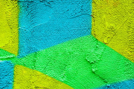 Colorful wall texture background of paint on concrete,Abstract for background
